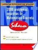 2000 problemas resueltos de matemática discreta