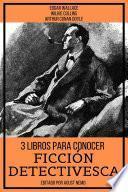 3 Libros para Conocer Ficción Detectivesca
