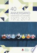 40 aniversario de la Universidad de Cantabria