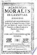 Academias morales de las Musas ...