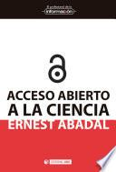 Acceso abierto a la ciencia