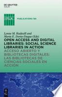 Acceso Abierto Y Bibliotecas Digitale