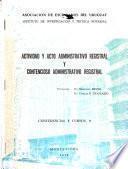Actividad y acto administrativo registral y contencioso administrativo registral