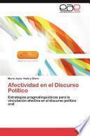 Afectividad en el Discurso Político
