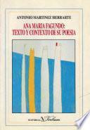 Ana María Fagundo: texto y contexto de su poesía