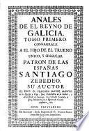 Anales de el Reyno de Galicia