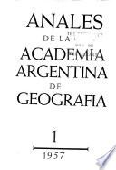 Anales de la Academia Argentina de Geografía