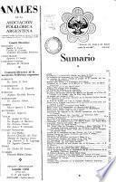 Anales de la Asociación Folklórica Argentina
