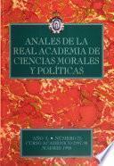 Anales de la Real Academia de Ciencias Morales y Políticas