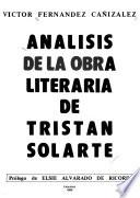 Análisis de la obra literaria de Tristán Solarte