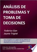 Análisis y problemas en la toma de decisiones