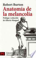 Anatomía de la melancolía