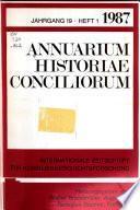 Annuarium historiae conciliorum