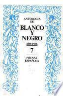 Antología de Blanco y Negro, 1891-1936