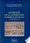 Antología de la literatura nórdica antigua (edición bilingüe)
