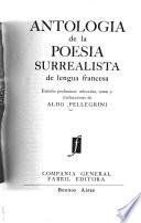 Antología de la poesía surrealista de lengua francesa