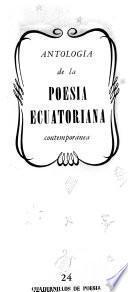 Antología de poesía latinoamericana y espanola: Nos. 24-33
