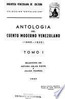 Antología del cuento moderno venezolano