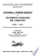 Anuario de ferrocarriles y transportes por carretera