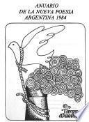 Anuario de la nueva poesía argentina