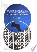 Anuario estadístico centroamericano de comercio exterior