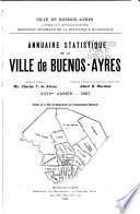 Anuario estadístico de la ciudad de Buenos Aires