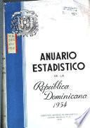 Anuario estadístico de la República dominicana
