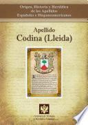 Apellido Codina (Lleida)