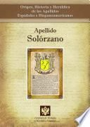 Apellido Solórzano