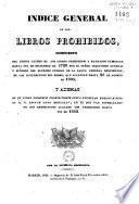 Apéndice al Índice general de los libros prohibidos