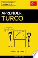 Aprender Turco - Rápido / Fácil / Eficaz