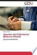 Apuntes de Enfermería Materno Infantil