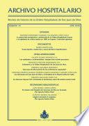 Archivo Hospitalario. Número 18. Año 2020