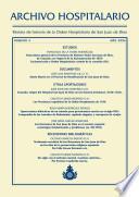Archivo Hospitalario. Número 4. Año 2006
