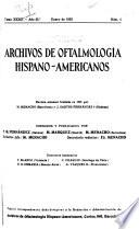 Archivos de oftalmologia Hispano-Americanos