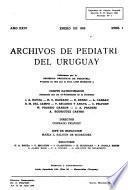 Archivos de pediatría del Uruguay