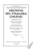 Archivos del folklore chileno