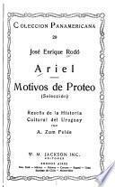 Ariel ; Motivos de Proteo