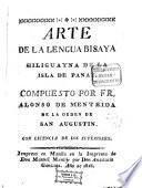 Arte de la lengua Bisaya