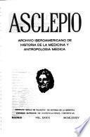Asclepio : revista de historia de la medicina y de la ciencia