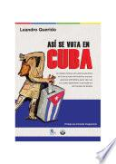 Así se vota en Cuba
