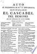 Auto Al Nacimiento De N.ro S.r Jesu-Christo, Intitulado El Cascabel Del Demonio
