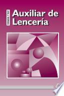 Auxiliar de Lenceria. Temario Y Test. E-book