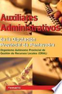 Auxiliares Administrativos de la Diputacion Provincial de Pontevedra (organismo Autonomo Provincial de Gestion de Recursos Lacales).temario.e-book