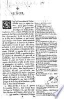 Begin. Señor. [A petition to the King of Spain on behalf of the Colegio Mayor de Santa María de Todos Santos in a dispute with the University of Mexico.]