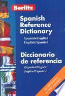 Berlitz Spanish-English Bilingual References Dictionary