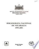 Bibliografía nacional de Nicaragua, 1999-2001