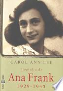 Biografia De Ana Frank