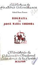 Biografía de José María Córdoba