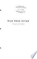 Blue Mesa Review